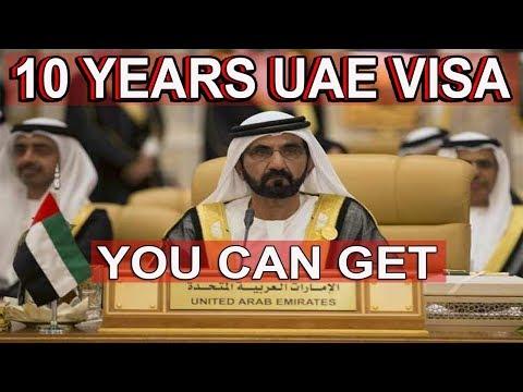 Dubai UAE 10 Years Visa New Rule You Can Get 2019