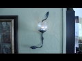 Forged Wall Sconce with