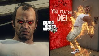 GTA 5 - What Happens If You Kill Ron After Trevor's Death? (Trevor's Ghost)