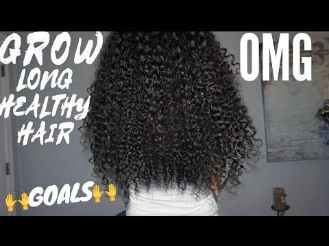 Grow Long, Thick, Healthy Hair In FULL DETAIL | Victoria Victoria