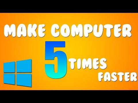 HOW TO MAKE YOUR COMPUTER FASTER BY 5 TIMES!!!