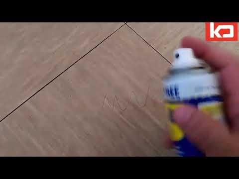 Remove Pen ink from Wooden floor