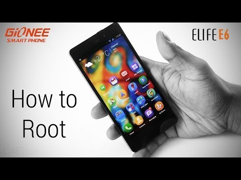 How to Root the Gionee Elife E6 & flash CWM Custom Recovery (No Loss of Apps & Data)