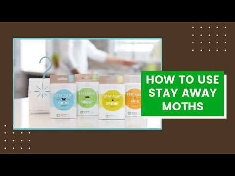 How To Use Stay Away® Moths Natural Pest Repellent