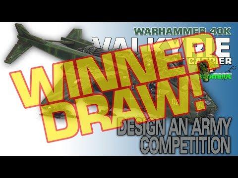 Warhammer 40K Valkyrie Giveaway **WINNER DRAW**