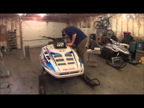 Snowmobile Cleaning
