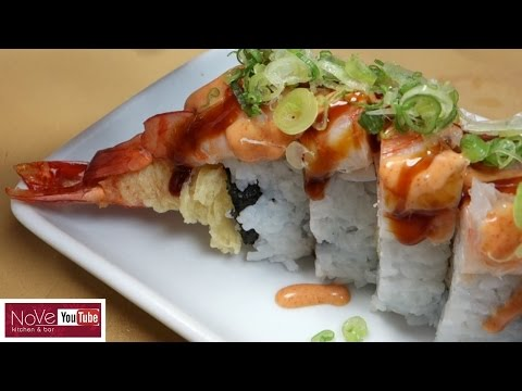Monster Shrimp Roll - DIY How To Make Sushi Series