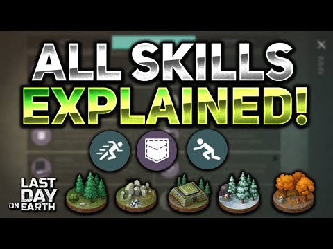 ALL SKILL TRAITS EXPLAINED! HOW TO GET ALL OF THEM! UPDATE 1.8.2! - Last Day On Earth: Survival