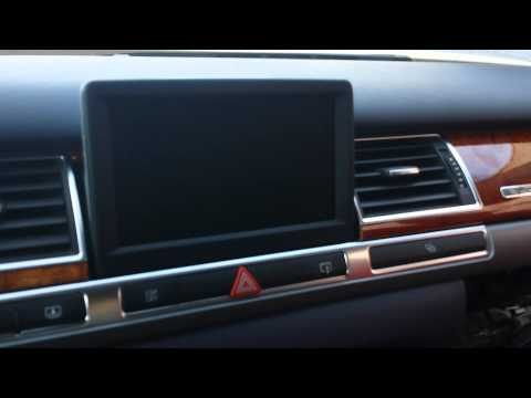 How to Troubleshoot MMi, Audio & Navigation of Audi A8 for Repair.