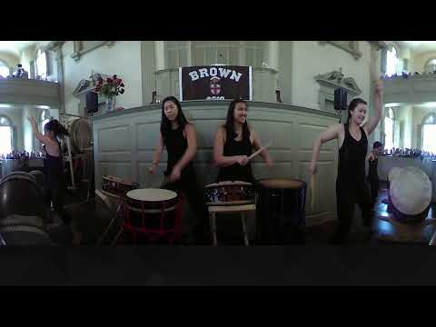 360 video: Gendo Taiko perform at Brown's 2018 Baccalaureate