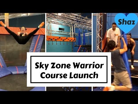 Sky Zone Fun - NEW WARRIOR COURSE IN WHITBY!