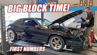 CLEETER MULLET REVEAL + Our FIRST Ever BIG BLOCK On the Dyno! How Much Will the Camaro Make??