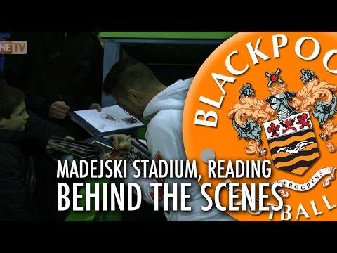 Behind The Scenes - Madejski Stadium, Reading