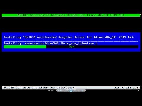 Ubuntu NVidia driver kurulumu