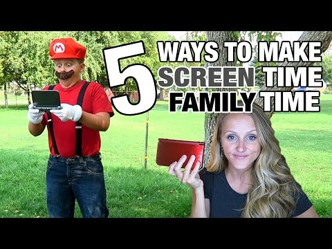 5 Tips to Make SCREEN Time, FAMILY Time | Millennial Moms | Jinger