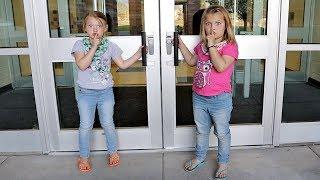 SARDINES AT OUR SCHOOL! | HIDE AND SEEK