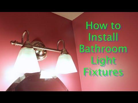 Bathroom Light Fixtures by Lowe's Lighting -- by Home Repair Tutor