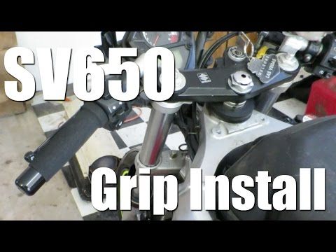 How to Install Motorcycle Grips