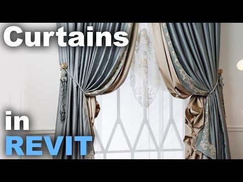 Curtains in Revit Tutorial