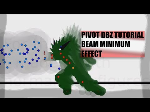 PIVOT TUTORIAL| DBZ| Easing beam stance with minimum effects