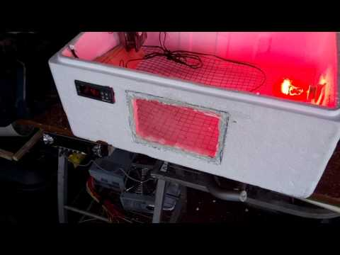 homemade manual incubator uk build part 2