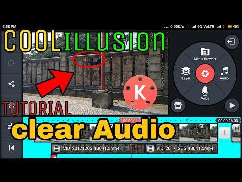 How to make Illusion effect (clear audio)#kumar Tech.#kinemaster Tutorial