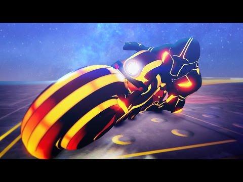 GTA 5 DLC - NEW TRON MOTORCYCLE SPENDING SPREE! (GTA 5 Online)