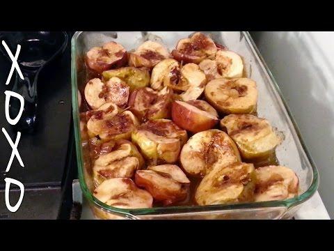 Cinnamon & Brown Sugar Roasted Apples Recipe | xoxo cooks, ep 19