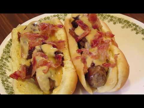 Beer Brats With Beer Cheese