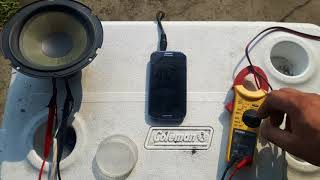 Speaker kill Sunday Sinclair audio plate amp test