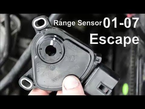 Replace 01-07 Ford Escape Range Sensor + Symptoms, Location