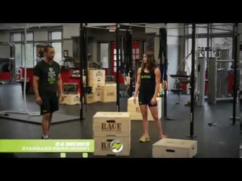 RAGE Fitness Stackable Plyo Boxes