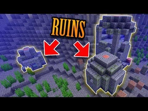 Minecraft's Rare Underwater Ruins