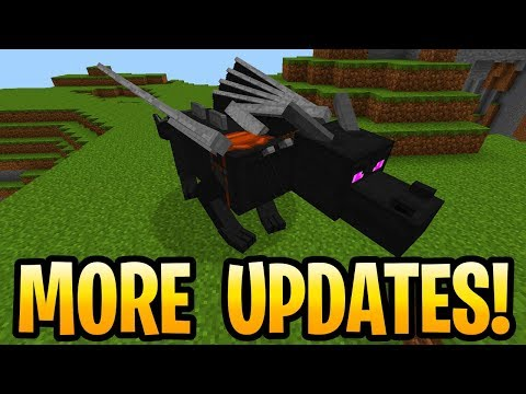 Minecraft THREE MORE UPDATES COMING AFTER AQUATIC! Pe, Xbox, PS4 & Switch