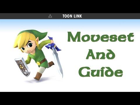 Super Smash Bros. 4 for Wii U & 3DS - Toon Link Guide & Moveset!