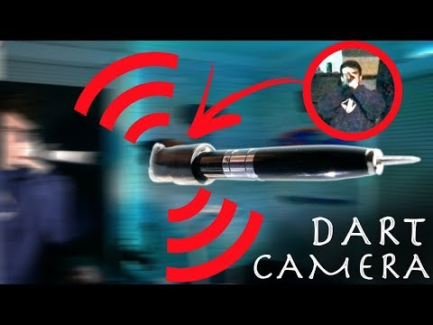 How To Make a Spy Camera Blow Dart!