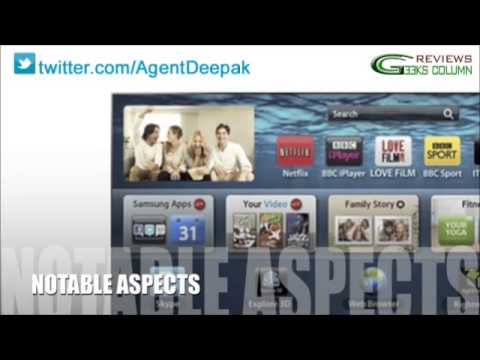 Geeks Column Review - Samsung UN46F8000 46-Inch 1080p 240Hz 3D Ultra Slim Smart LED HDTV