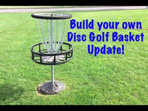 Build a Disc Golf Basket Video - UPDATE!!!