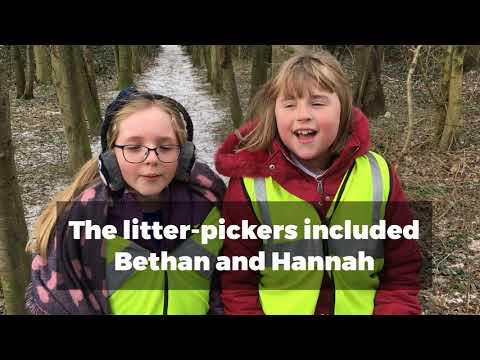 Rackheath Primary School Litter Pick