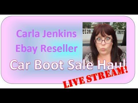 Sunday Car Boot Haul & Natter  | UK EBAY RESELLER