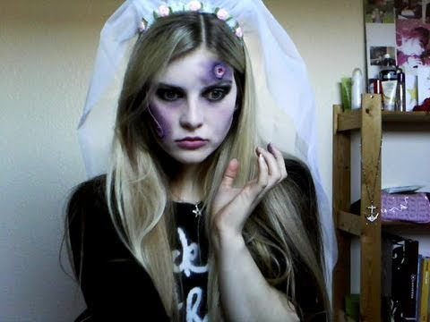 Halloween - Zombie Bride Make Up Tutorial