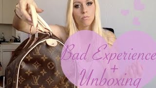 7139bb04b10e BAD Louis Vuitton Experience + Speedy 30 Monogram Canvas Unboxing