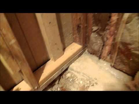 HOW TO CHANGE BATHROOM TUB TO WALK IN SHOWER. SHOWER PAN PREP PART 1 OF 4