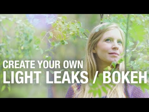 Create LIGHT LEAKS / BOKEH clips for FREE!