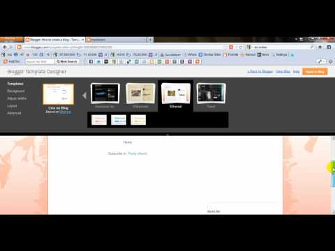 How To Create A Blog With Google Blogger in Hindi