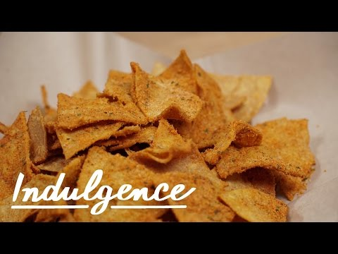 This is How You Make Homemade Cool Ranch Doritos With Queso Dip