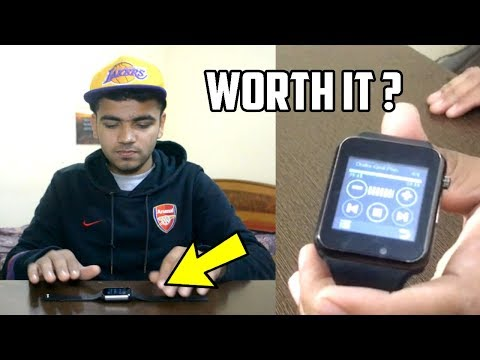 [HINDI] Cheap Smartwatch On Amazon India Review | Fake Apple Watch For Android And iOS For Rs.1000