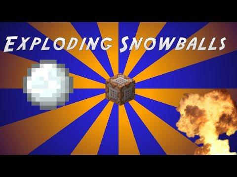 Minecraft: Exploding Snowballs [Vanilla]