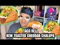 TACO BELL39S NEW TOASTED CHEDDAR CHALUPA REVIEW