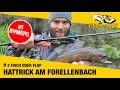 3 FISCH Oder FLOP Hattrick Am Forellenbach Ultralight Anglerboard TV